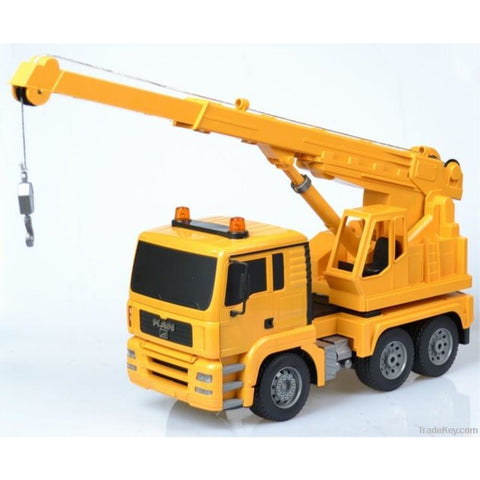 DOUBLE EAGLE 1/20 RC Crane Truck w/Lights & Sound 2.4GHz