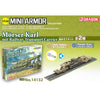 DRAGON 1/144 Morser Karl mit Railway Transport Carrier Plastic Model Kit