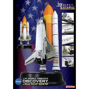 DRAGON 1/144 Space Shuttle Discovery With Rocket Booster (DR 47403)