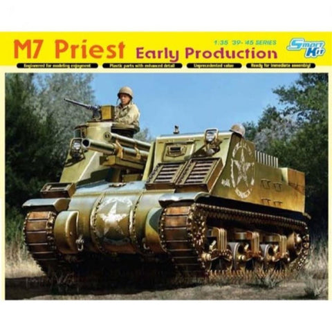 DRAGON 1/35 M7 Priest Early Production (DR 6627)