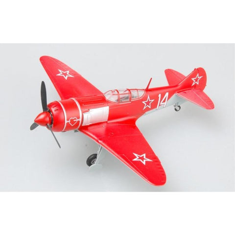 EASY MODEL 1/72 LA7 RED 14 RUSSIAN AIRFORCE* - Hearns Hobbies Melbourne - EASY MODEL