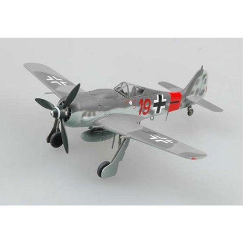 EASY MODEL 1/72 FW190A8 RED 19 5JG300 1944 - Hearns Hobbies Melbourne - EASY MODEL