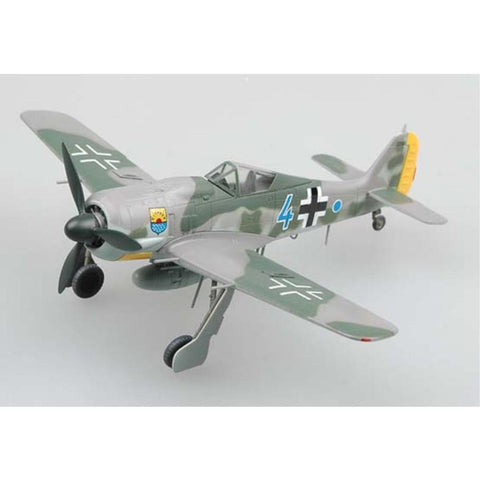 EASY MODEL 1/72 FW190A8 BULE 4 12JG5 COMMANDER 1944 - Hearns Hobbies Melbourne - EASY MODEL