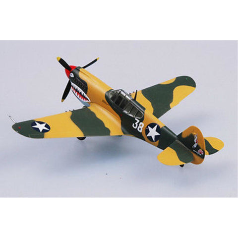 EASY MODEL 1/72 CURTISS P40E TOMAHAWK 1942 16FS 23FG
