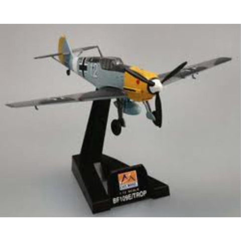 EASY MODEL 1/72 BF109E-7/TROP JG27 Messerschmitt (EAS-37280)