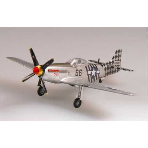 EASY MODEL 1/72 P51D IV MUSTANG 1945 6ACA 1ACG INDIA