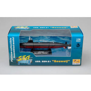 EASY MODEL 1/700 Submarine - USS. SSN-21 Seawolf Assembled Model (EAS-37302)