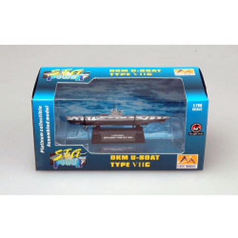 EASY MODEL 1/700 Submarine - DKM U-boat German NavyU7C Assembled Model (EAS-37316)