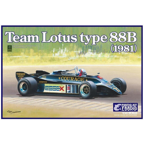 EBBRO 1/20 Team Lotus 88B 1981