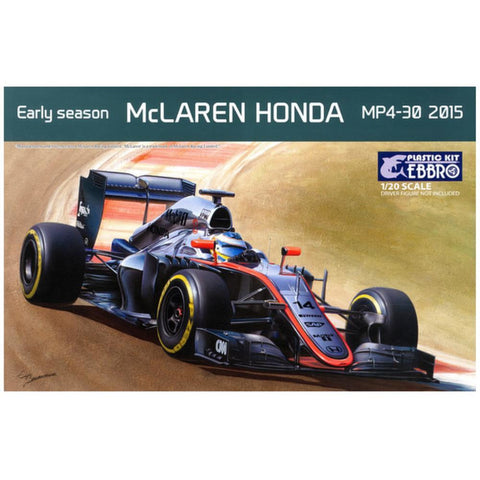 Image of EBBRO 1/20 McLaren HONDA MP4-30 2015 Early season (EBR-2001