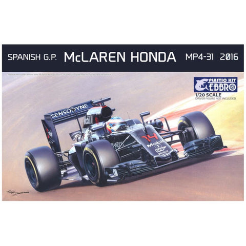 Image of EBBRO 1/20 McLaren Honda MP4-31 (EBR-20018)