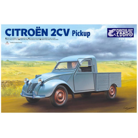 EBBRO 1/24 Citoroen 2CV Pick Up (EBR-25004)
