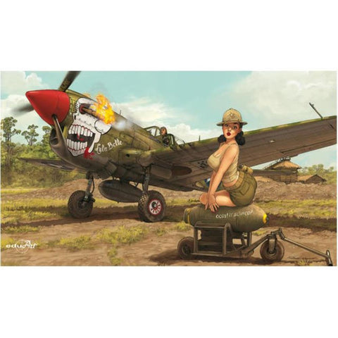 EDUARD 1/32 Curtiss P-40N Warhawk Limited Edition kit of P-