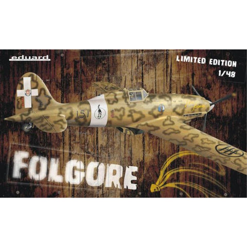 EDUARD Limited edition for 1/48 Folgore  1/48 (1132) - Hearns Hobbies Melbourne - EDUARD