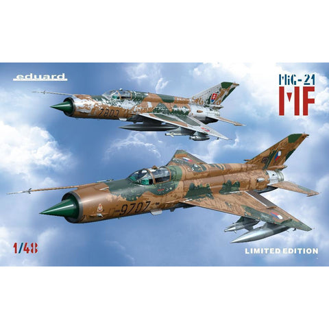EDUARD Limited edition for 1/48 MF  1/48 (1199) - Hearns Hobbies Melbourne - EDUARD