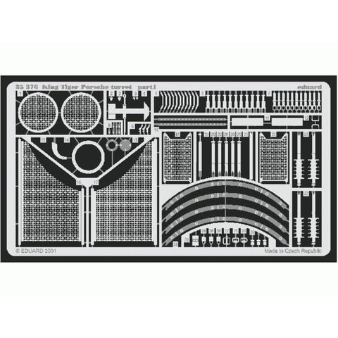 EDUARD Photoetched set for King Tiger Porsche 1/35 scale by Tamiya (EDK35376)