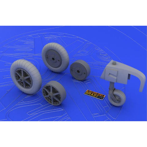 EDUARD Bf 109E wheels for  1/32 EDUARD (EDK632004)