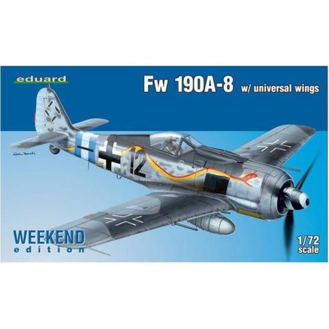 EDUARD Fw 190A-8 w/ universal wings  1/72 Weekend edition (EDK7443 )