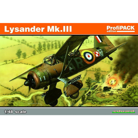 EDUARD Profipack for 1/48 Lysander Mk. III (8290) - Hearns Hobbies Melbourne - EDUARD