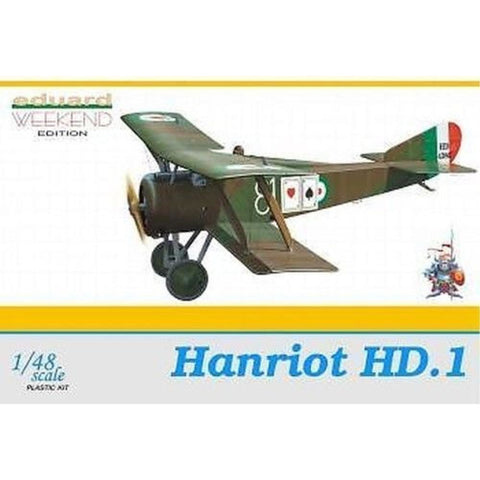 EDUARD 1/48 Hanriot HD.1