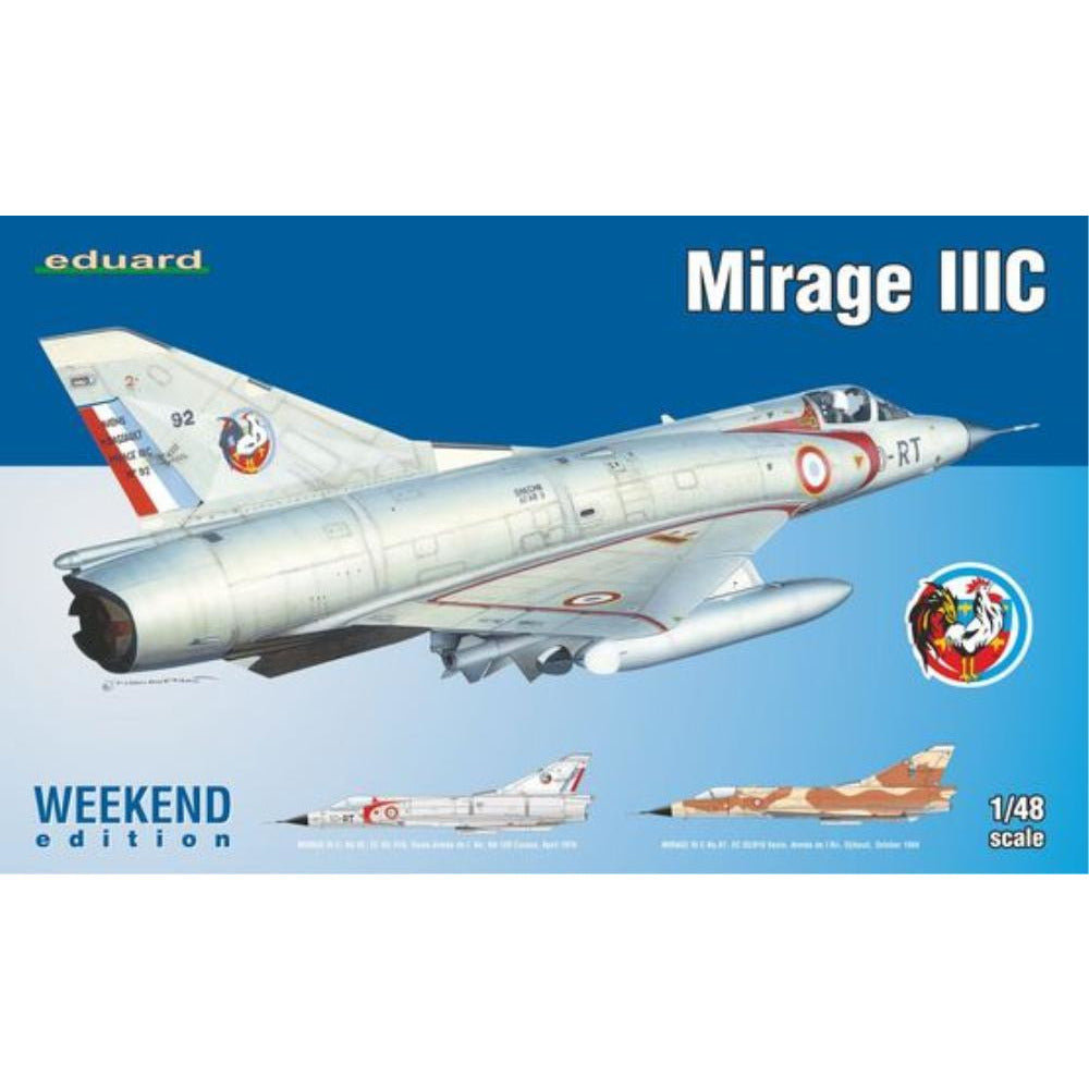 EDUARD 1/48 Mirage IIIC - Weekend (EDK8496 )