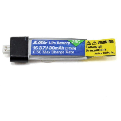 EFLITE 1S 3.7V 30MAH25C LIPO BATTERY - Hearns Hobbies Melbourne - E-FLIGHT
