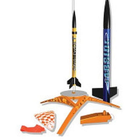 ESTES LAUNCH SET KIT SOLAR SCOUTS (2) w/o ENG FARSIDE (Disc)