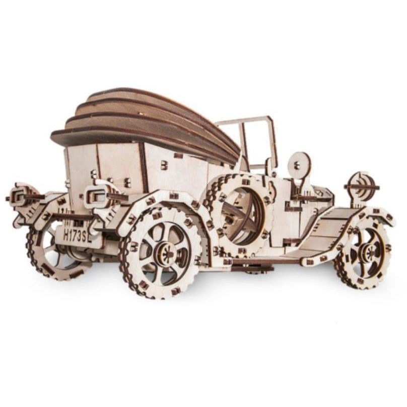 EWA Retro Car wooden model kit