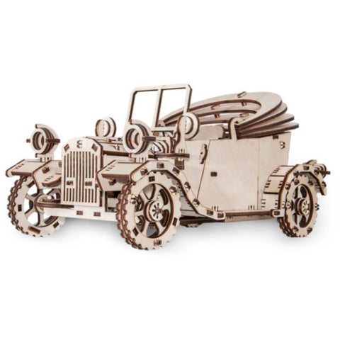 Image of EWA Retro Car wooden model kit