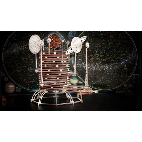 EWA PLANETARIUM wooden model kit