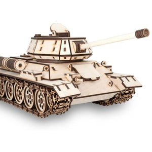 EWA TANK T-34 wooden model kit