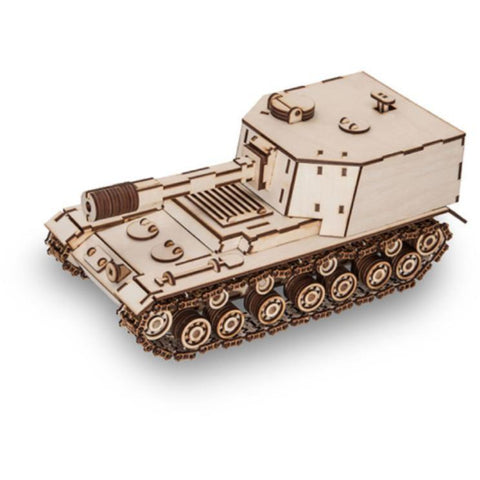 EWA TANK SAU212 wooden model kit