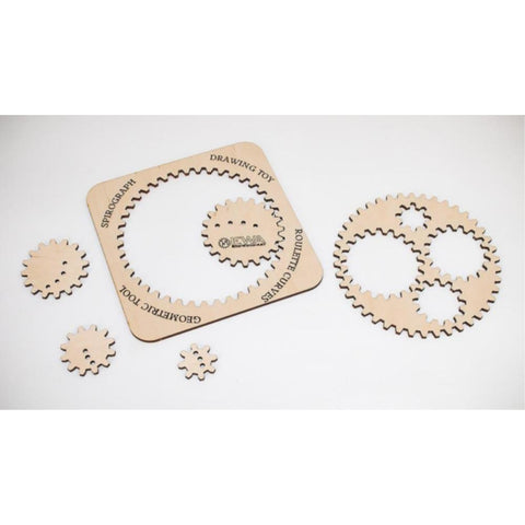 EWA WOODEN SPIROGRAPH wooden model kit