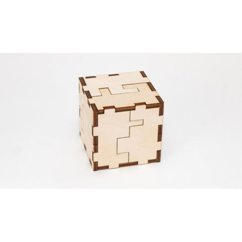 EWA JIGSAW CUBE-3D wooden model kit