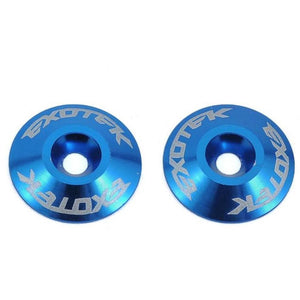 EXOTEK WING BUTTONS, ALLOY (2) (EXO-1422)