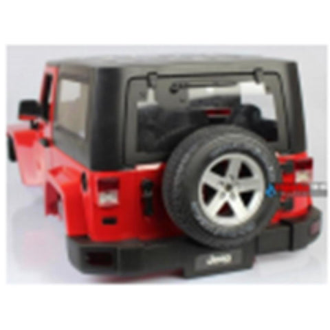 EXO 4X4 Jeep Rubicon Body Shell - Red  (EXO-14) - Hearns Hobbies Melbourne - EXO 4X4