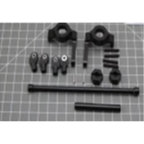 EXO 4X4 SCX10 Metal Steering Knuckles w/Linkages (EXO-231) - Hearns Hobbies Melbourne - EXO 4X4