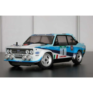 Fiat 131 rally body - WRC painted with decals