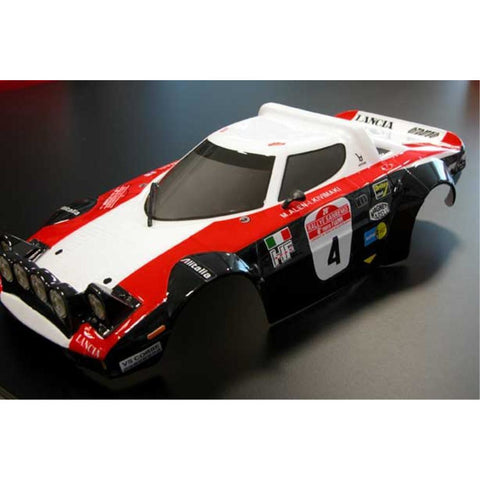 STRATOS RED/BLACK PAINTED BODY WITH HOLES