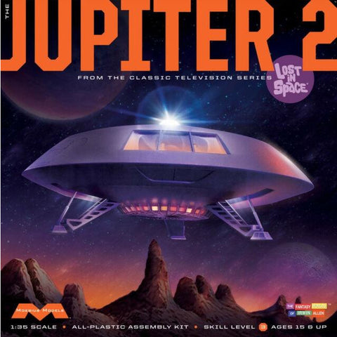 MOEBIUS 1/35 Lost in Space - Jupiter 2 Plastic Kit Movie