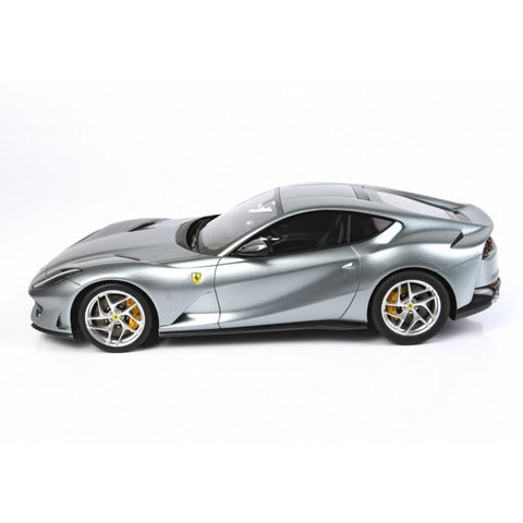 BBR 1/18 Ferrari 812 Superfast Grigio Titanio with Case