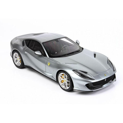 Image of BBR 1/18 Ferrari 812 Superfast Grigio Titanio with Case