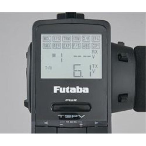 Image of FUTABA 3PV 2.4G W/ R314SB FUT3PVR314SB - Hearns Hobbies Melbourne - FUTABA - 2