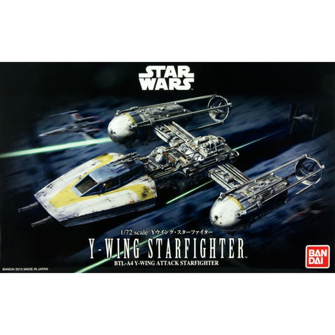 BANDAI  1/72 Y-WING STARFIGHTER (G01966941)