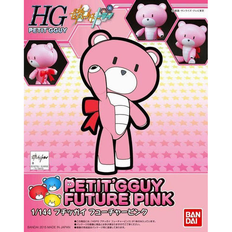 Image of HG PETIT BEAR GUY  FUTURE PINK - Hearns Hobbies Melbourne - GUNDAMS