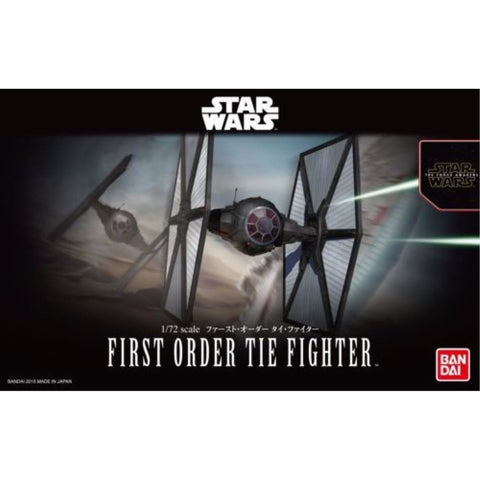 BANDAI 1/72 The First Order Tie Fighter
