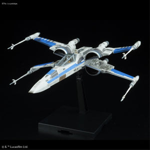 BANDAI  1/144 BLUE SQUADRON RESISTANCE X-WING FIGHTER (The Last Jedi) (G0223296)
