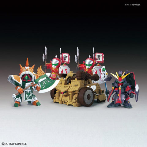 BANDAI  BB410 DianWei Asshimar , JiaXu Ashtaron, Siege Weapon & Six Combining Weapons Set A (G2417230)