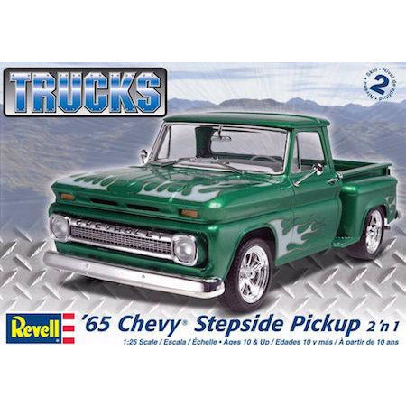 REVELL 1/25 '65 Chevy Stepside Pickup 2 'n 1