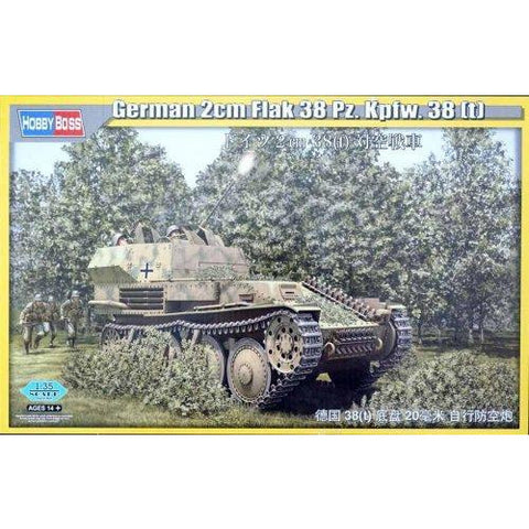 Image of HOBBY BOSS 1/35 German 2cm Flak 93 Pz.Kpfw.38
